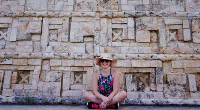 En Mérida camino a Uxmal… Trazos Mayas