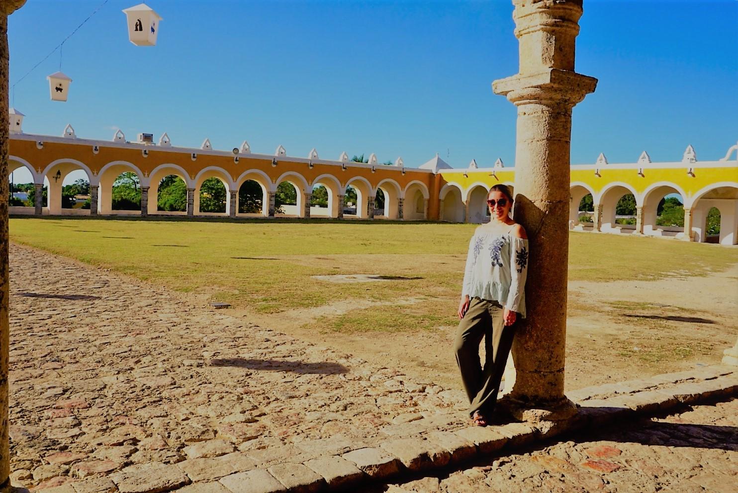 Atrio del Convento de Izamal