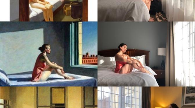 Edward Hopper y Alain de Botton- Hablando del confinamiento y de viajes